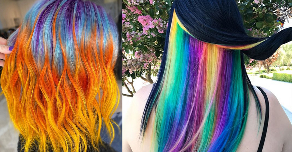 10 Colorful Summer Hair Trends We Love