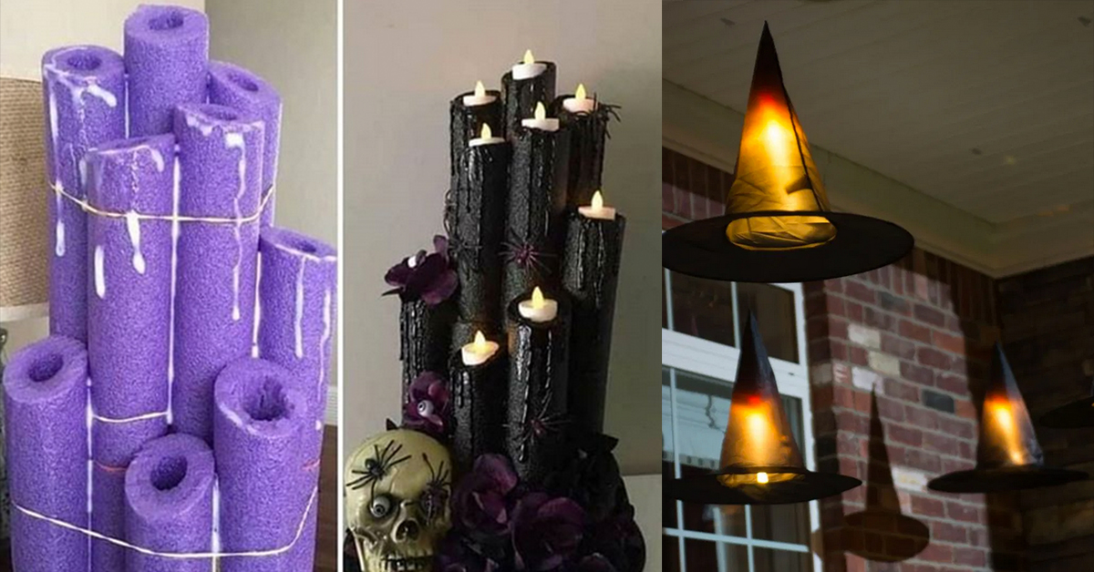 10 Creepy, Cheap and Creative Halloween DIYs