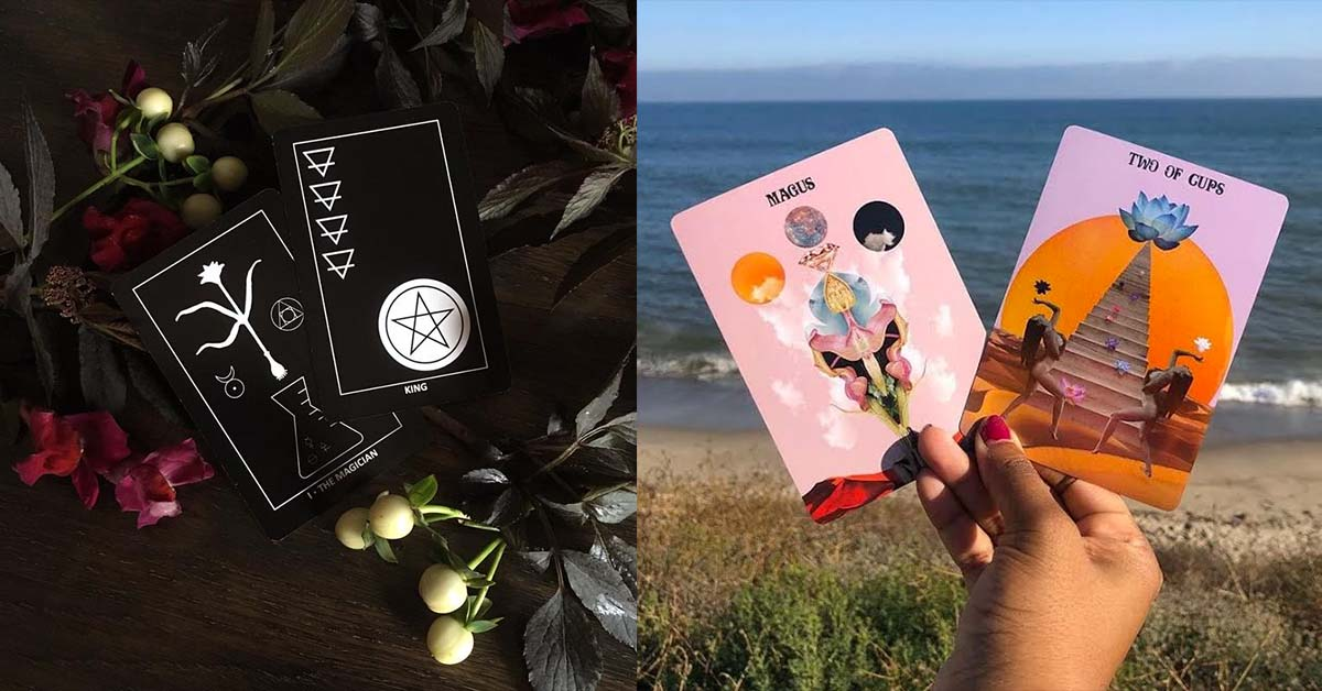 These Aren't Your Auntie's Tarot Decks