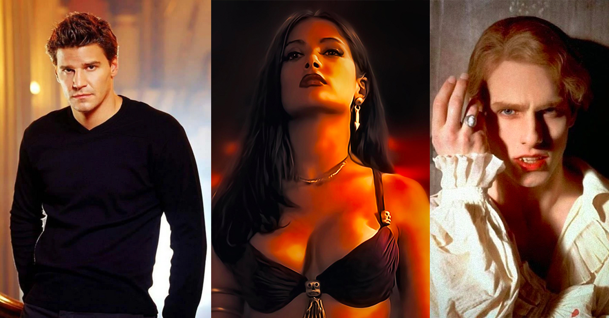 Ranking 20 Pop Culture Vampires From Meh to Bite Me Now